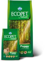 Ecopet Puppy  для щенков с курицей