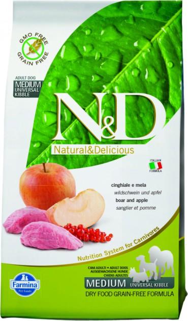 N&D Boar & Apple Adult