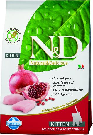 N&D Cat Chicken & Pomegranate Kitten.