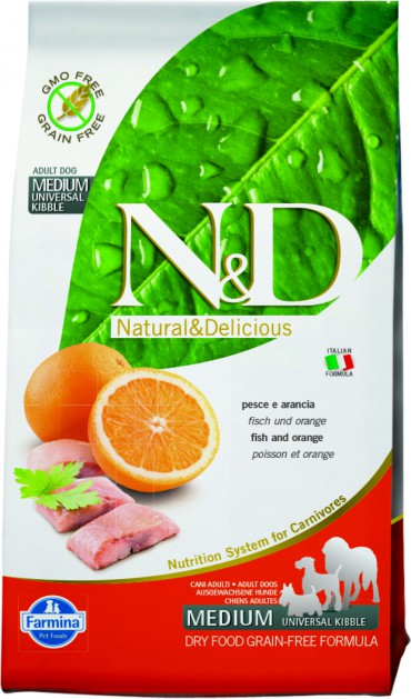 N&D Fish & Orange Adult