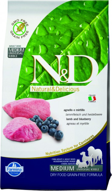 N&D Lamb & Blueberry Adult