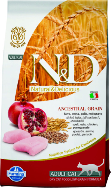N&D Low Grain Cat Chicken & Pomegranate