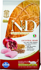 N&D Low Grain Cat Chicken & Pomegranate Neutered
