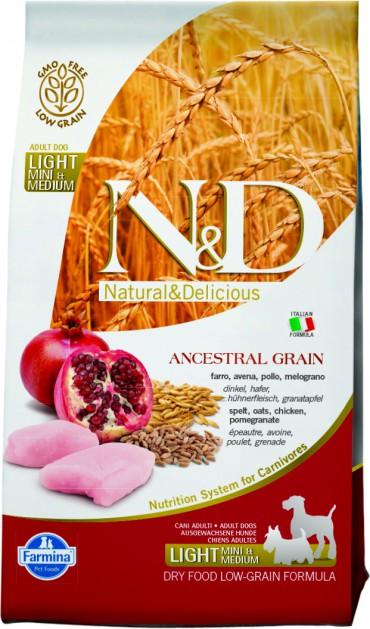 N&D Low Grain Chicken & Pomegranate Light