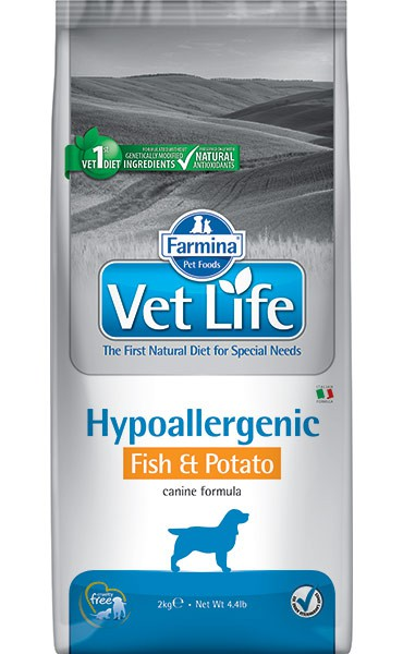 Vet Life Dog Hypoallergenic Fish & Potato