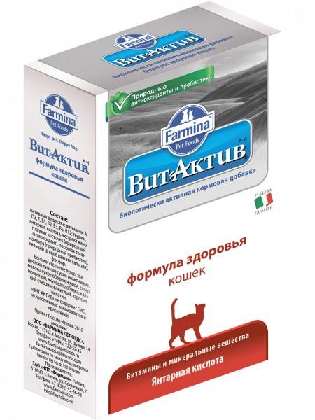ВИТ-АКТИВ К-И Формула здоровья кошек