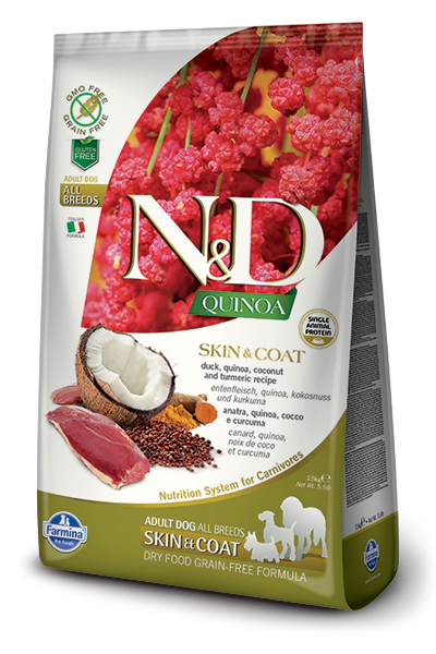 N&D Dog Quinoa Skin&coat Duck