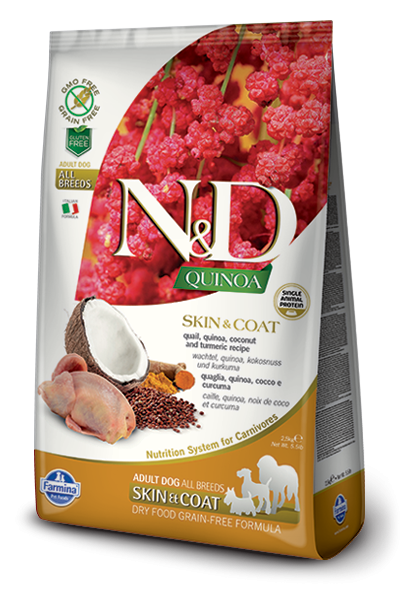 N&D Dog Quinoa Skin&coat Quail