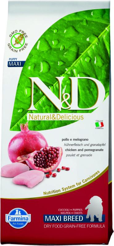 N&D Chicken & Pomegranate Puppy Maxi