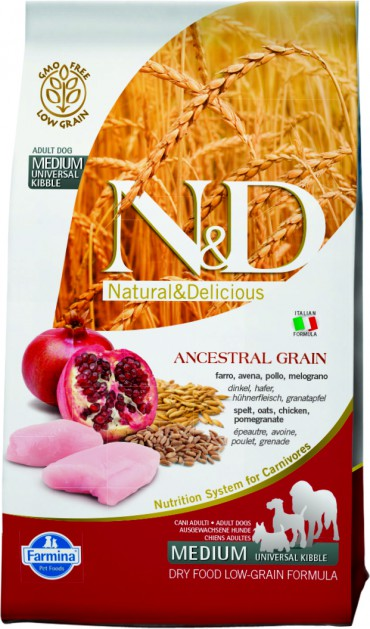 N&D Low Grain Chicken & Pomegranate Adult