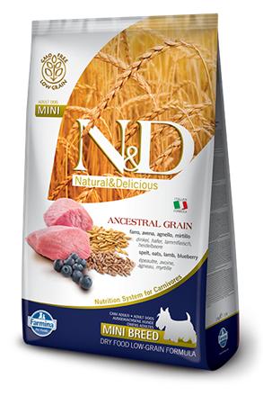 N&D Low Grain Dog Lamb & Blueberry Puppy Mini
